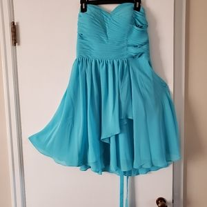 Dresses & Skirts - Turquoise blue bridesmaid/ prom dress